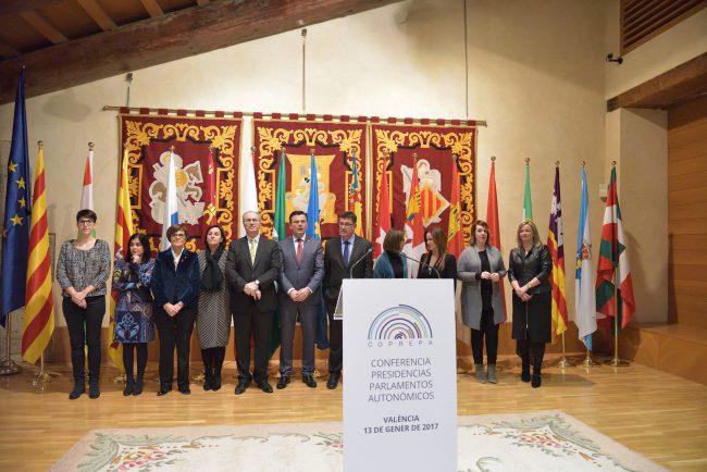 Reunión de la Coprepa en Valencia