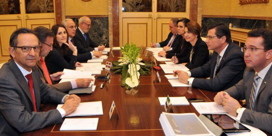 Sesión de trabajo de los presidentes en las Islas Baleares