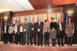 Los presidentes y presidentas de las asambleas regionales