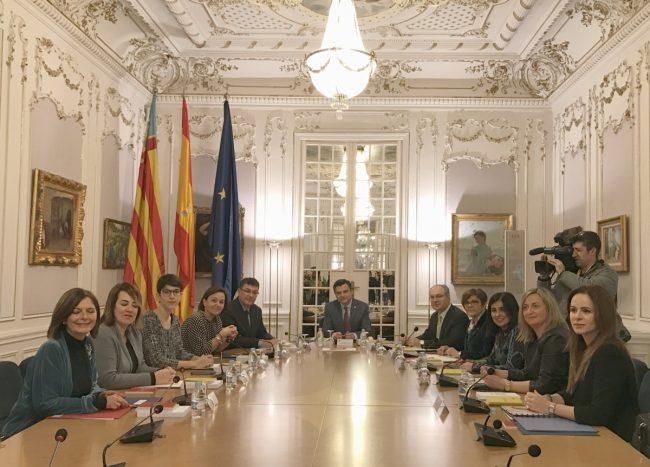Plenario de la Coprepa en Valencia