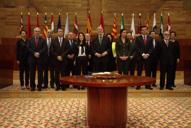 Reunión de la Coprepa en Madrid
