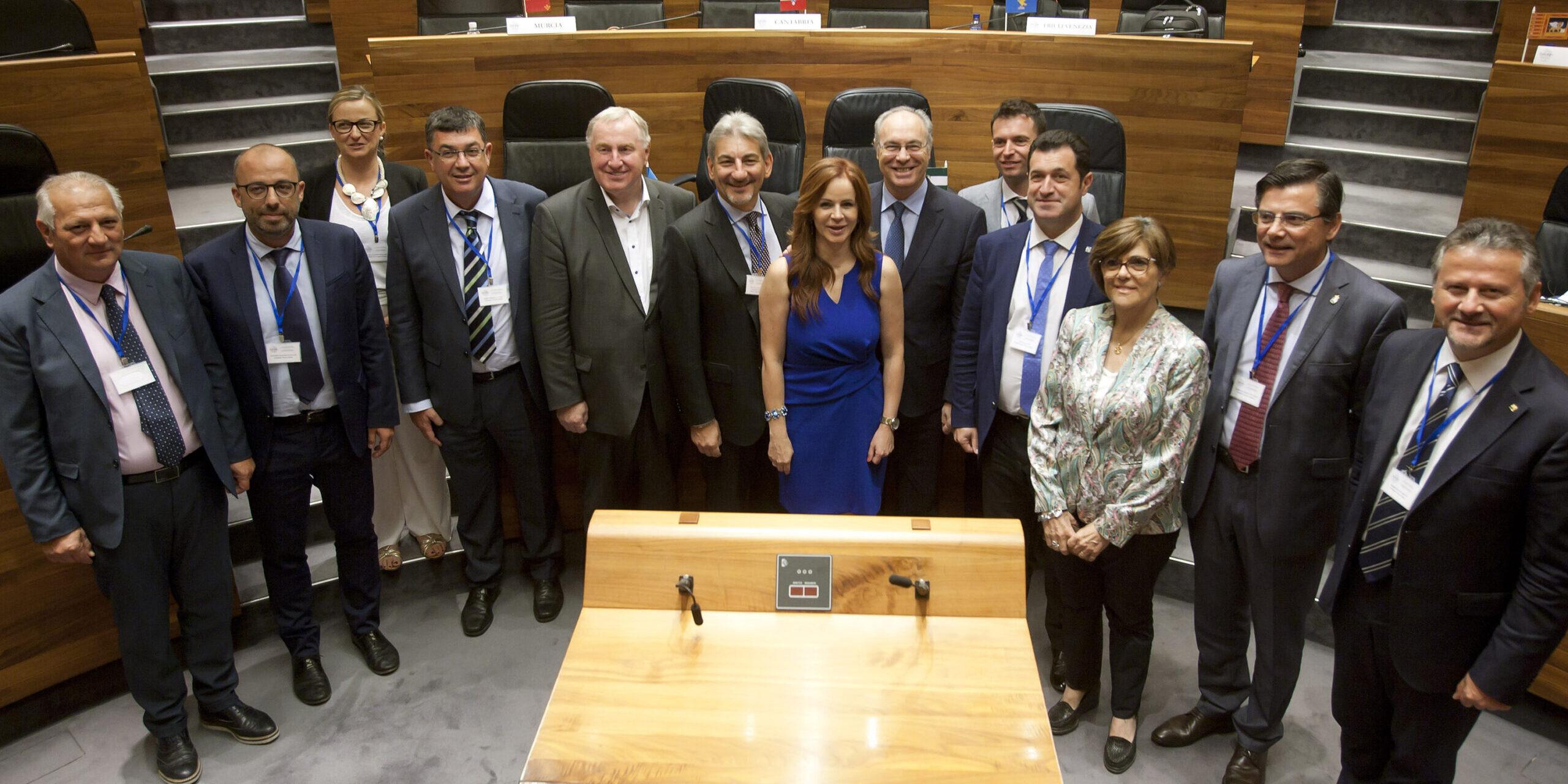 Reunión de la CALRE en Oviedo