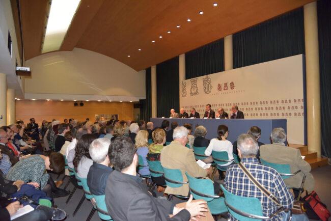 Reunión de los archiveros en las Cortes Valencianas