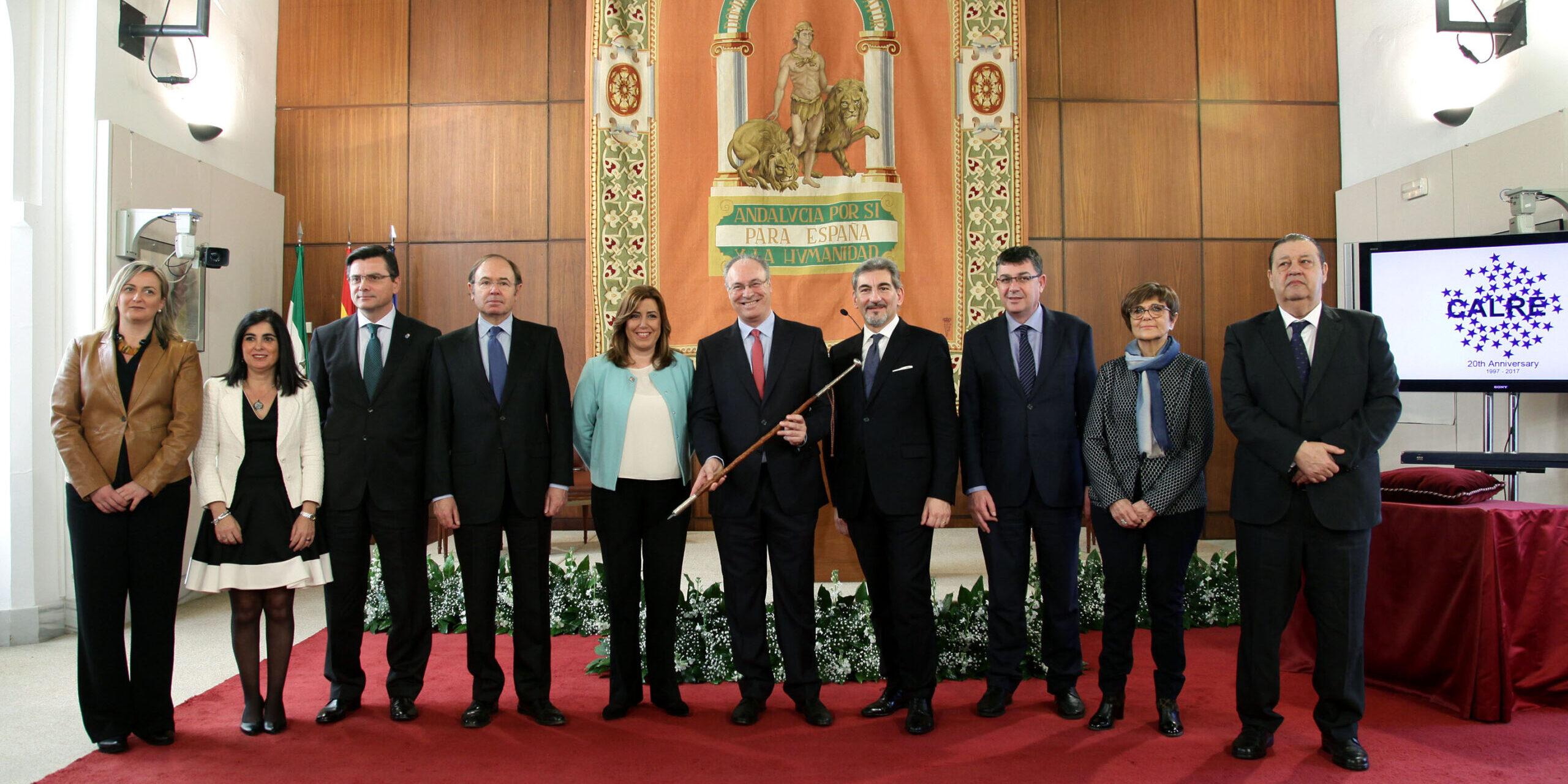 Reunión de la CALRE en Sevilla