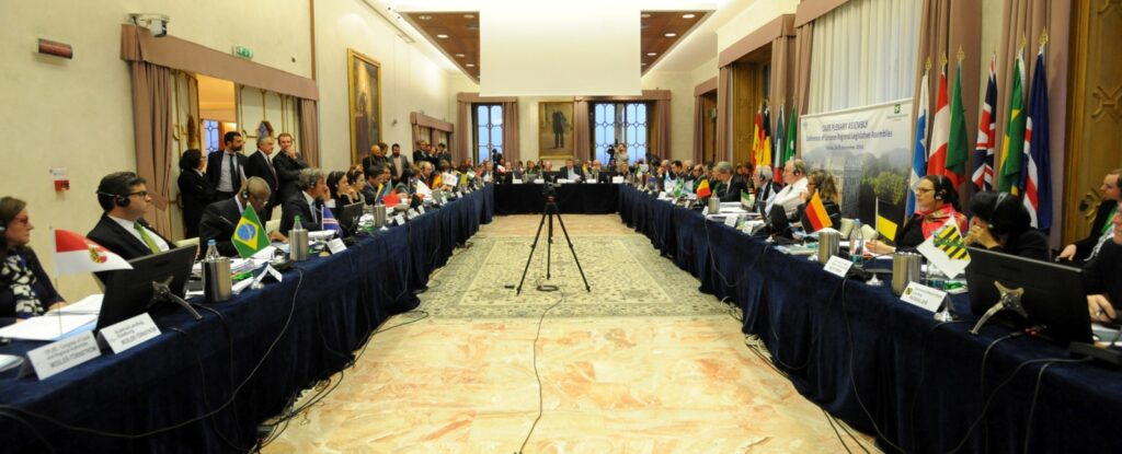 Reunión de trabajo del Plenario de la CALRE