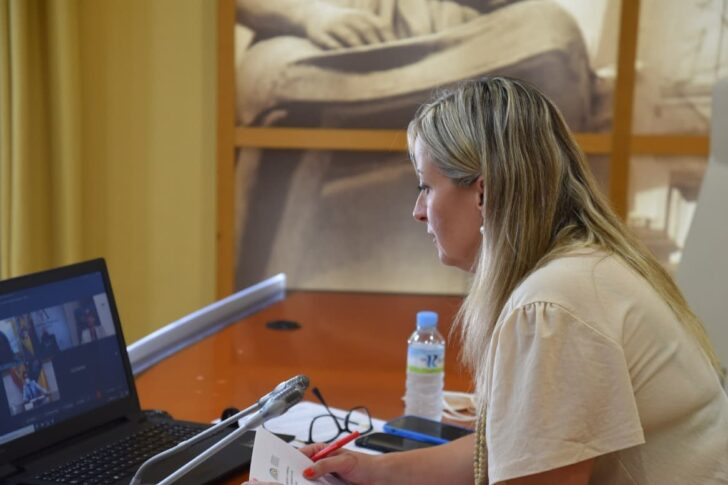 Blanca Martín preside la reunión telemática de la Comisión Permanente de la COPREPA