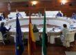 Blanca Martín preside la reunión del Plenario de la COPREPA que acoge la Asamblea de Extremadura